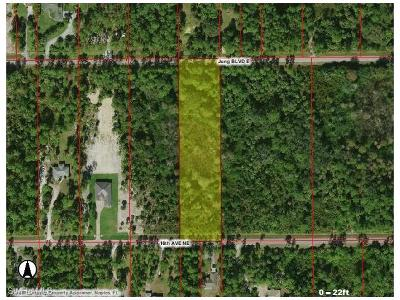 Naples Residential Lots & Land For Sale: Jung Blvd E