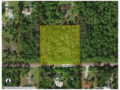 Collier County Residential Lots & Land For Sale: Jung Blvd E