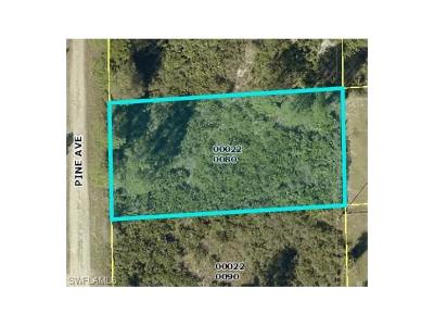 Lee County Residential Lots & Land For Sale: 1754 Pine Ave