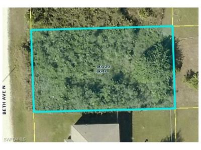 Lee County Residential Lots & Land For Sale: 4624 Beth Ave N