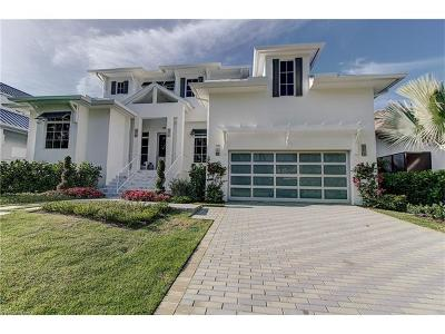 Olde Naples Single Family Home Pending With Contingencies: 138 17th Ave S