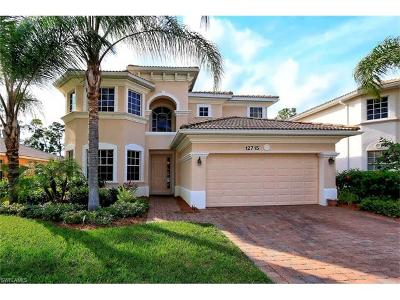 Naples Single Family Home For Sale: 12715 Aviano Dr