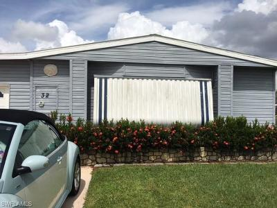 Goodland, Marco Island, Naples, Fort Myers, Lee Mobile/Manufactured For Sale: 32 Island Lake Ln