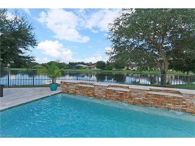 Naples Single Family Home For Sale: 14607 Indigo Lakes Cir