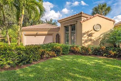 Naples Single Family Home For Sale: 15628 Villoresi Way