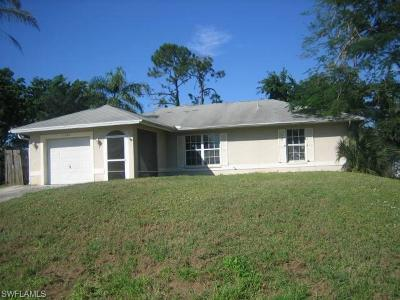 Bonita Springs Single Family Home Pending With Contingencies: 10096 Sunshine Dr