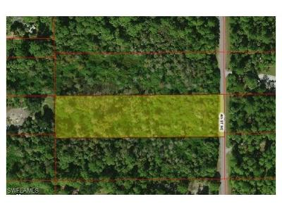 Collier County Residential Lots & Land For Sale: 4th St NE