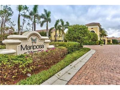 Naples Condo/Townhouse For Sale: 1375 Mariposa Cir #8-102
