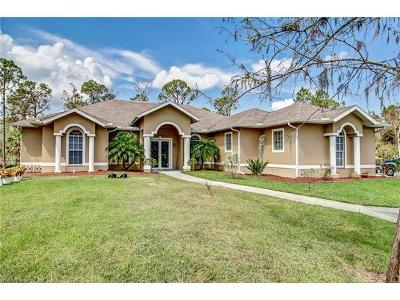 Naples Single Family Home For Sale: 483 19th St SW