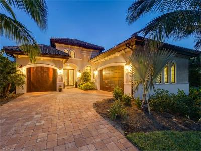 Collier County Single Family Home For Sale: 7598 Trento Cir
