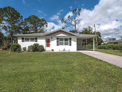 Naples Single Family Home Pending With Contingencies: 705 91st Ave N