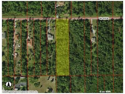 Naples Residential Lots & Land For Sale: Xxxx 20th Ave SE