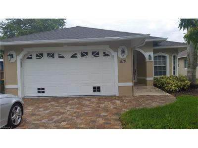 Naples Single Family Home For Sale: 815 96th Ave N