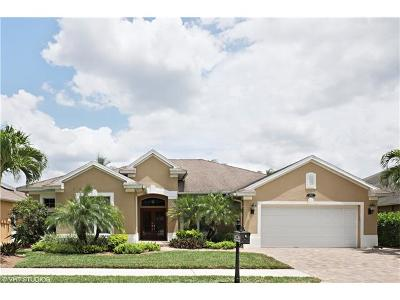 Naples Single Family Home For Sale: 180 Skipping Stone Ln