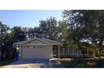 Fort Myers Single Family Home For Sale: 9120 Frank Rd