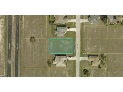 Lee County Residential Lots & Land For Sale: 1826 NW 7th Pl