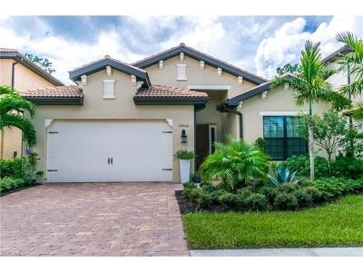 Naples Single Family Home Pending With Contingencies: 14366 Tuscany Pointe Trl