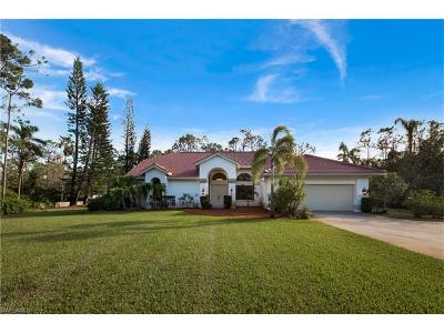 Naples Single Family Home For Sale: 6210 Copper Leaf Ln