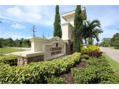 Fort Myers Condo/Townhouse For Sale: 18324 Creekside Preserve Loop #102