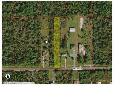 Naples Residential Lots & Land For Sale: 2631 72nd Ave NE