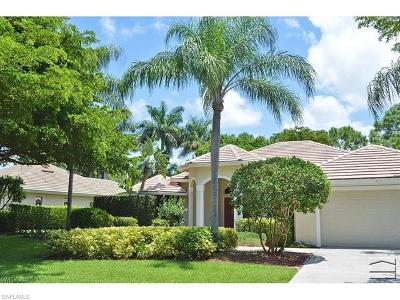 Naples Single Family Home For Sale: 6804 Mill Run Cir