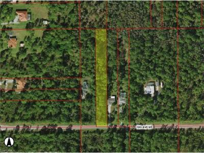 Collier County Residential Lots & Land For Sale: 3221 12th Ave NE
