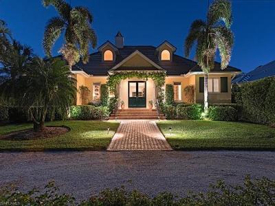 Naples FL Single Family Home For Sale: $3,125,000