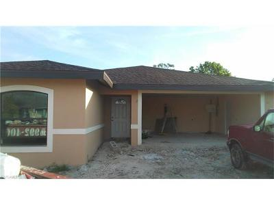 Collier County, Lee County Single Family Home For Sale: 126 5th St