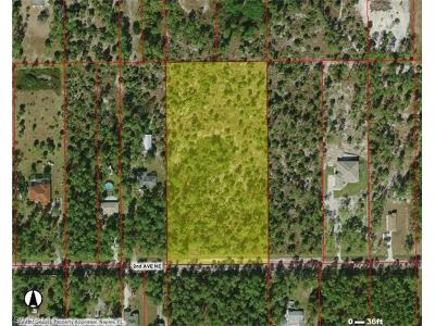 Collier County Residential Lots & Land For Sale: 2nd Ave NE