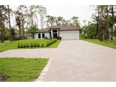 Collier County, Lee County Single Family Home For Sale: 5858 Star Grass Ln