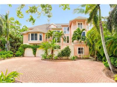 Captiva FL Single Family Home For Sale: $7,599,000