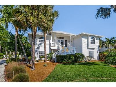 Sanibel Single Family Home For Sale: 1450 Sand Castle Rd