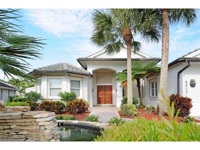Single Family Home For Sale: 8859 Lely Island Cir
