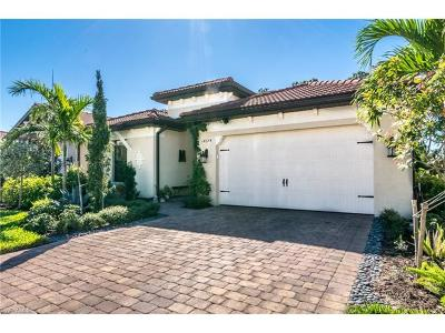 Naples Single Family Home Pending With Contingencies: 14374 Tuscany Pointe Trl