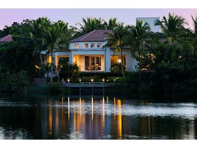 Olde Naples Single Family Home For Sale: 450 Gulf Shore Blvd N
