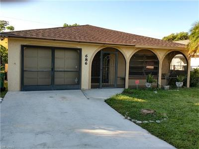 Naples Park Single Family Home Pending With Contingencies: 686 95th Ave N