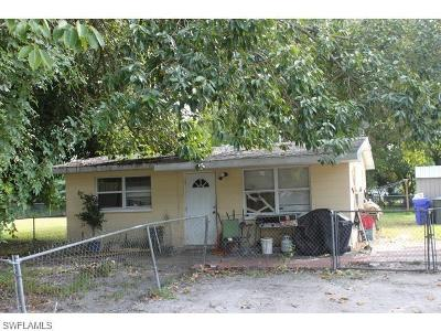 Fort Myers Single Family Home For Sale: 3324 Jeffcott St