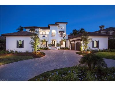 Marco Island FL Single Family Home For Sale: $5,350,000