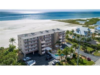 Fort Myers Beach Condo/Townhouse Pending With Contingencies: 8300 Estero Blvd #104