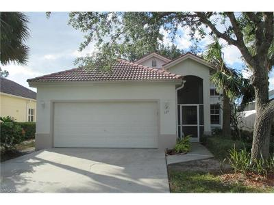 Naples Single Family Home For Sale: 125 Sabal Lake Dr