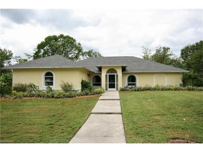 Naples FL Single Family Home Sold: $340,000