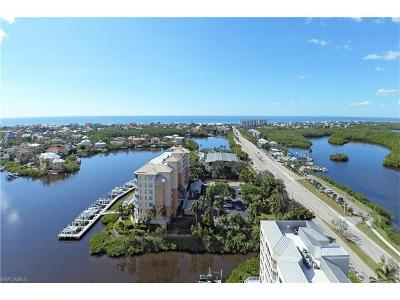 Bonita Springs Condo/Townhouse For Sale: 4895 Bonita Beach Rd #206