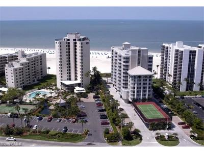 Fort Myers Beach Condo/Townhouse For Sale: 6620 Estero Blvd #1102