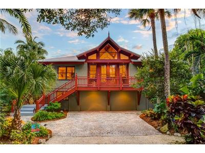 Captiva FL Single Family Home For Sale: $2,175,000