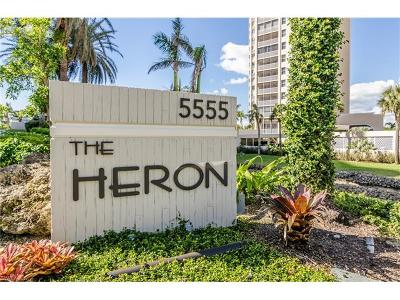 Naples Condo/Townhouse For Sale: 5555 Heron Point Dr #301
