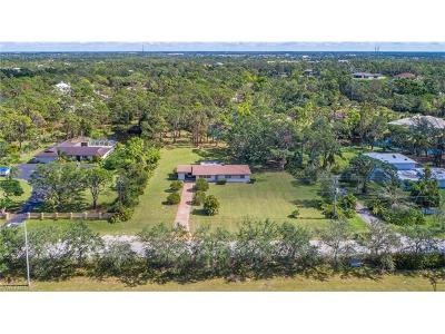 Naples Single Family Home For Sale: 6616 Trail Blvd