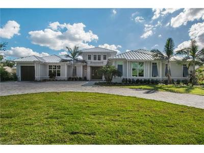 Naples FL Single Family Home For Sale: $4,200,000