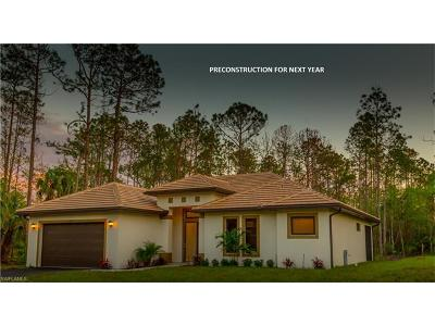 Collier County, Lee County Single Family Home For Sale: 355 16th St NE