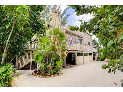 Sanibel Single Family Home For Sale: 1040 Sand Castle Rd
