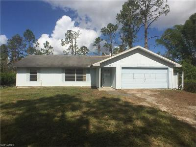 Collier County, Lee County Single Family Home For Sale: 2141 22nd Ave NE